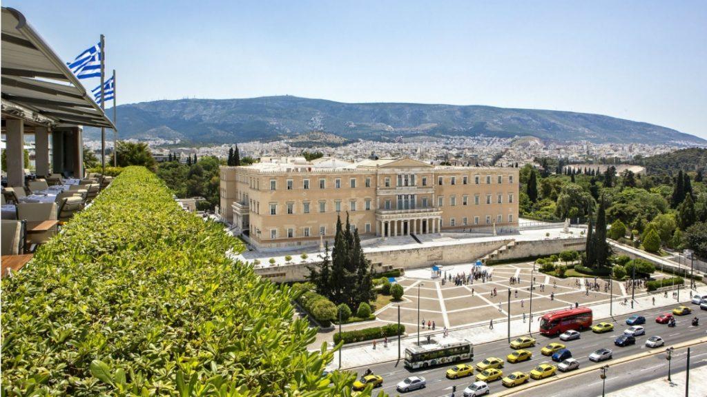 h tel grande bretagne h tel en ville de grand luxe 5 toiles syntagma ath nes certs it. Black Bedroom Furniture Sets. Home Design Ideas